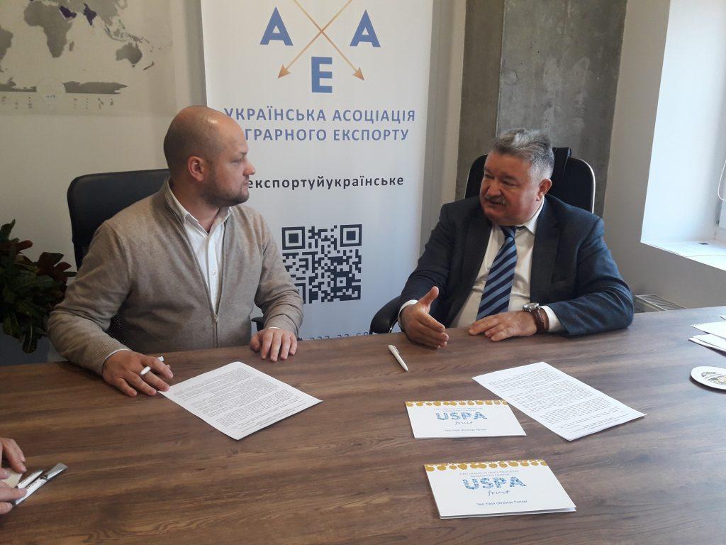 Експортно-кредитне агентство та Українська асоціація аграрного експорту підписали меморандум про співпрацю