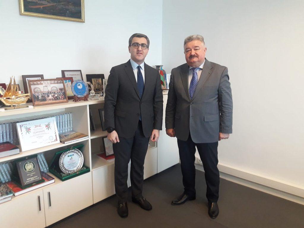 Бізнес-візит до Азербайджанської республіки