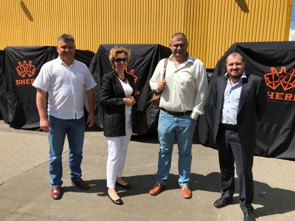 Зустріч керівників Експортно-кредитного агентства та представників компанії SHERP
